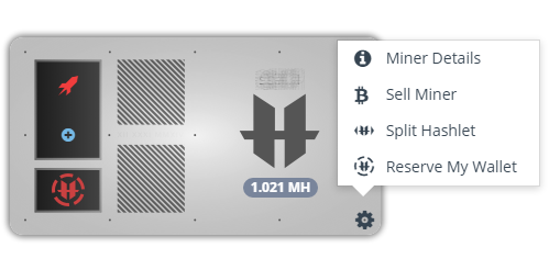Sell a GAW cloud miner on the Hash Market