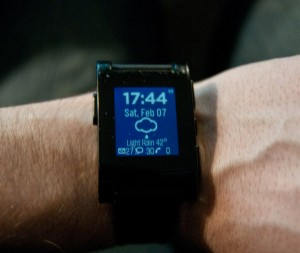 Pebble Glance app