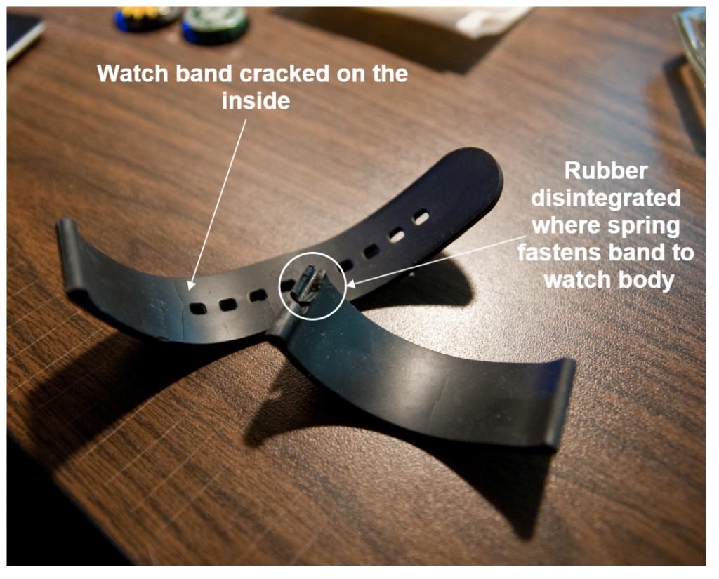 Pebble Watch Band Failure