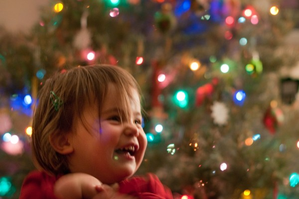 Childish Joy at Christmastime
